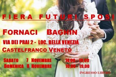 Fiera Futuri Sposi a Castelfranco Veneto dal 7 al 8 novembre 2020