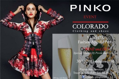 """Fashion Cocktail presso """"Colorado Abbigliamento"""" - Milano"""