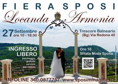 Fiera per gli Sposi alla Locanda Armonia, 27 settembre 2015 Trescore Balneario (Bg)