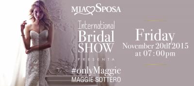 #only Maggie - Maggie Sottero per il pre-opening della Fiera Mia Sposa